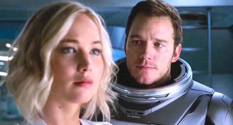 Passengers (2016), Jennifer Lawrence, Chris Pratt
