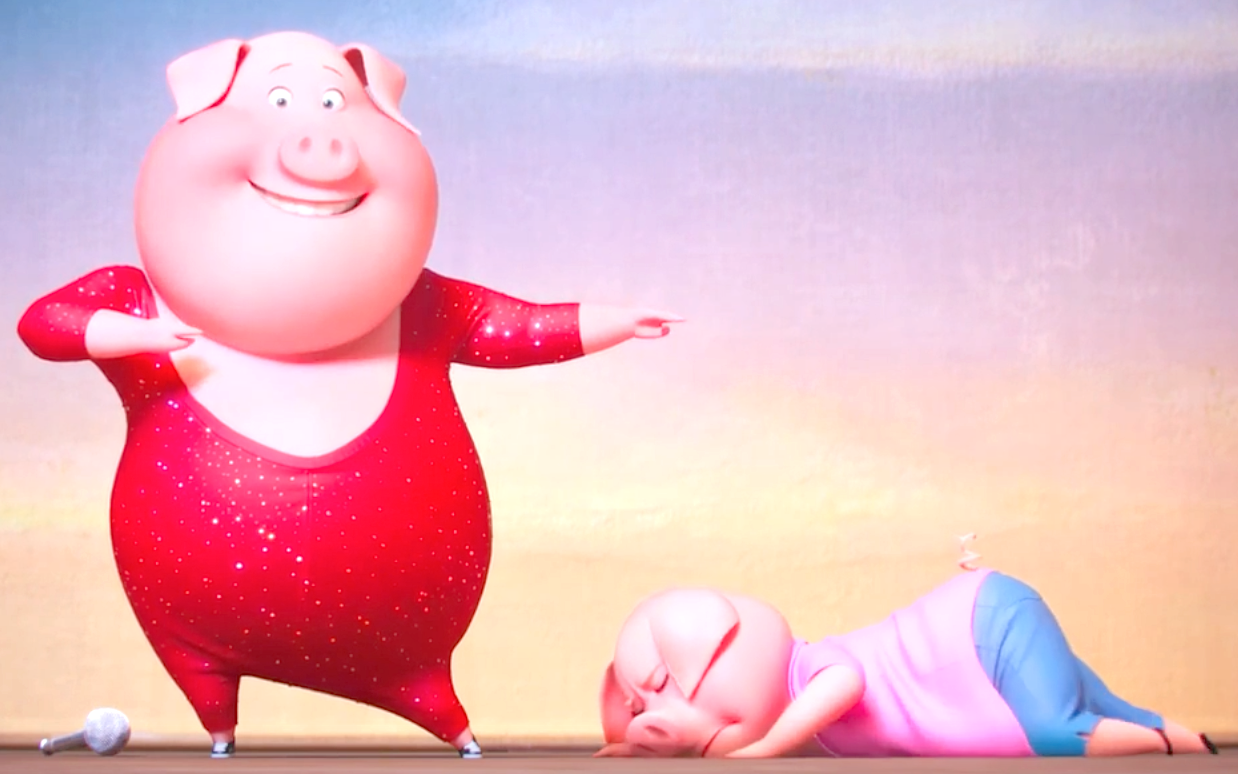 Sing (2016), Singing & Dancing Pigs