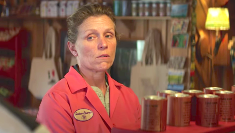 Three Billboards Outside Ebbing, Missouri (2017): Frances McDormand