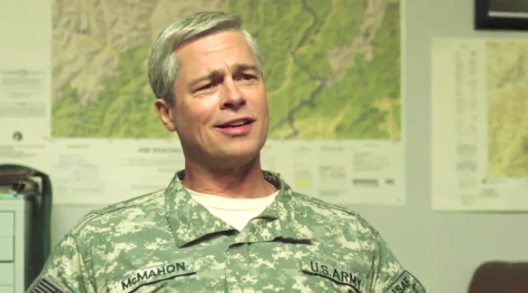 War Machine (2017), Brad Pitt