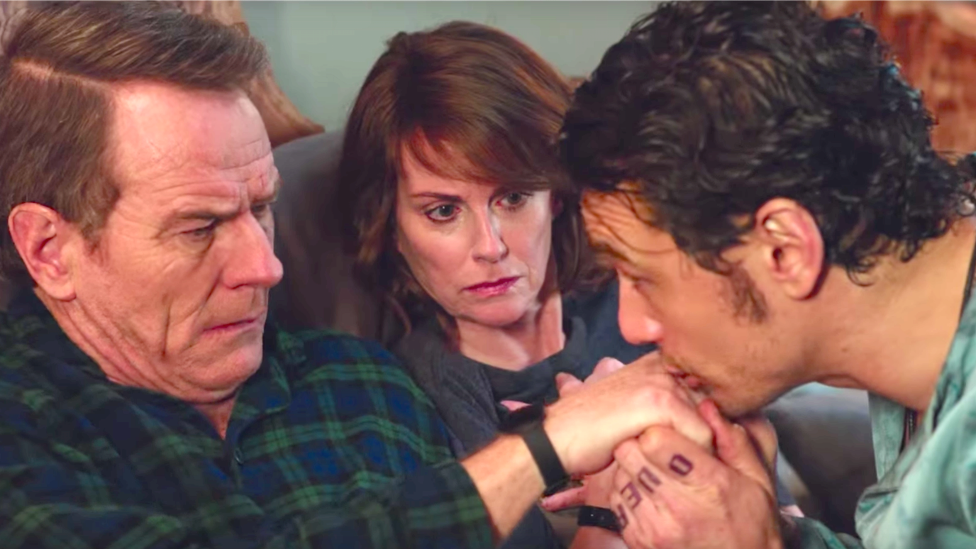 Why Him (2016), Bryan Cranston, Megan Mullally, James Franco