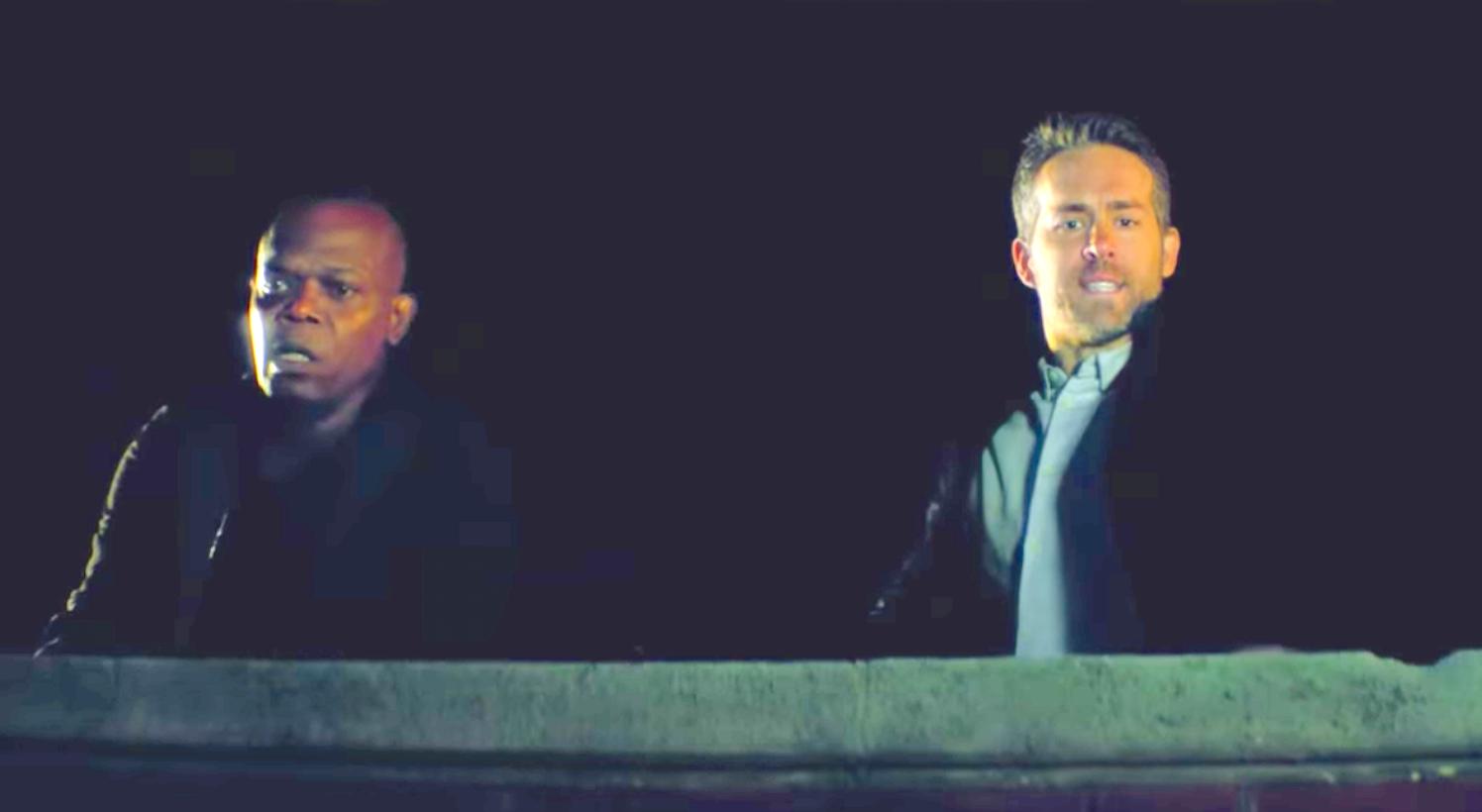 The Hitman's Bodyguard (2017), Samuel L. Jackson, Ryan Reynolds