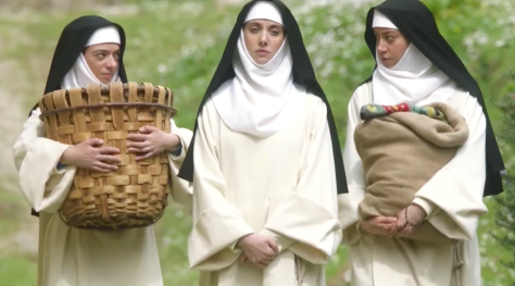 The Little Hours (2017), Kate Micucci, Alison Brie, Aubrey Plaza