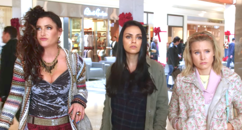 A Bad Moms Christmas (2017), Kathryn Hahn, Milla Kunis, Kristen Bell