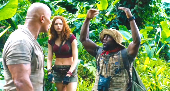 Jumanji - Welcome To The Jungle (2017), Dwayne Johnson, Karen Gillan, Kevin Hart