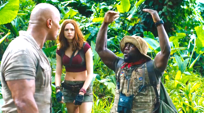 JUMANJI – WELCOME TO THE JUNGLE (2017): New Trailer From Kevin Hart, Dwayne Johnson, Jack Black, Karen Gillan…