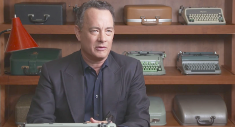 California Typewriter (2016), Tom Hanks
