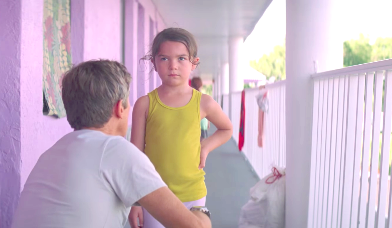 The Florida Project (2017), Willem Dafoe, Brooklynn Prince