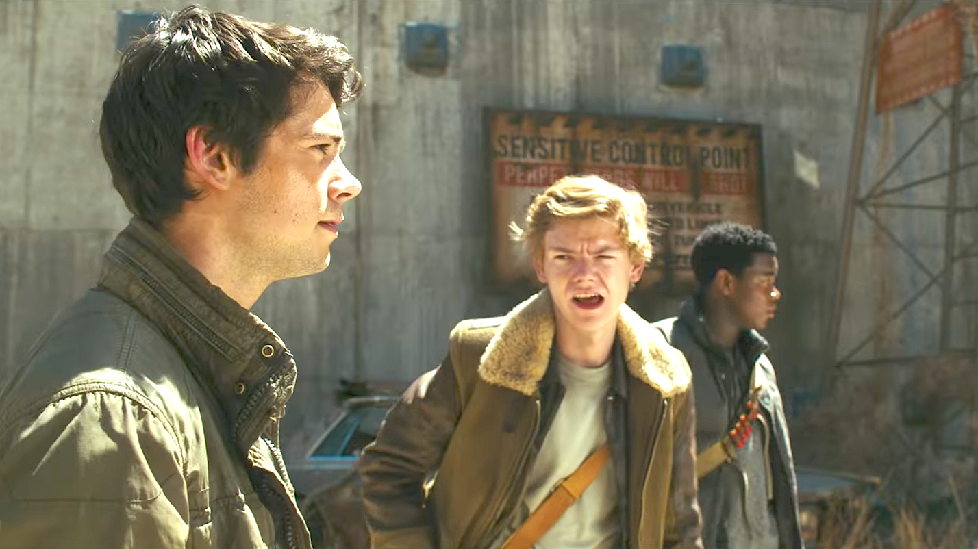 Maze Runner - The Death Cure (2018), Dylan O'Brien, Thomas Brodie-Sangster
