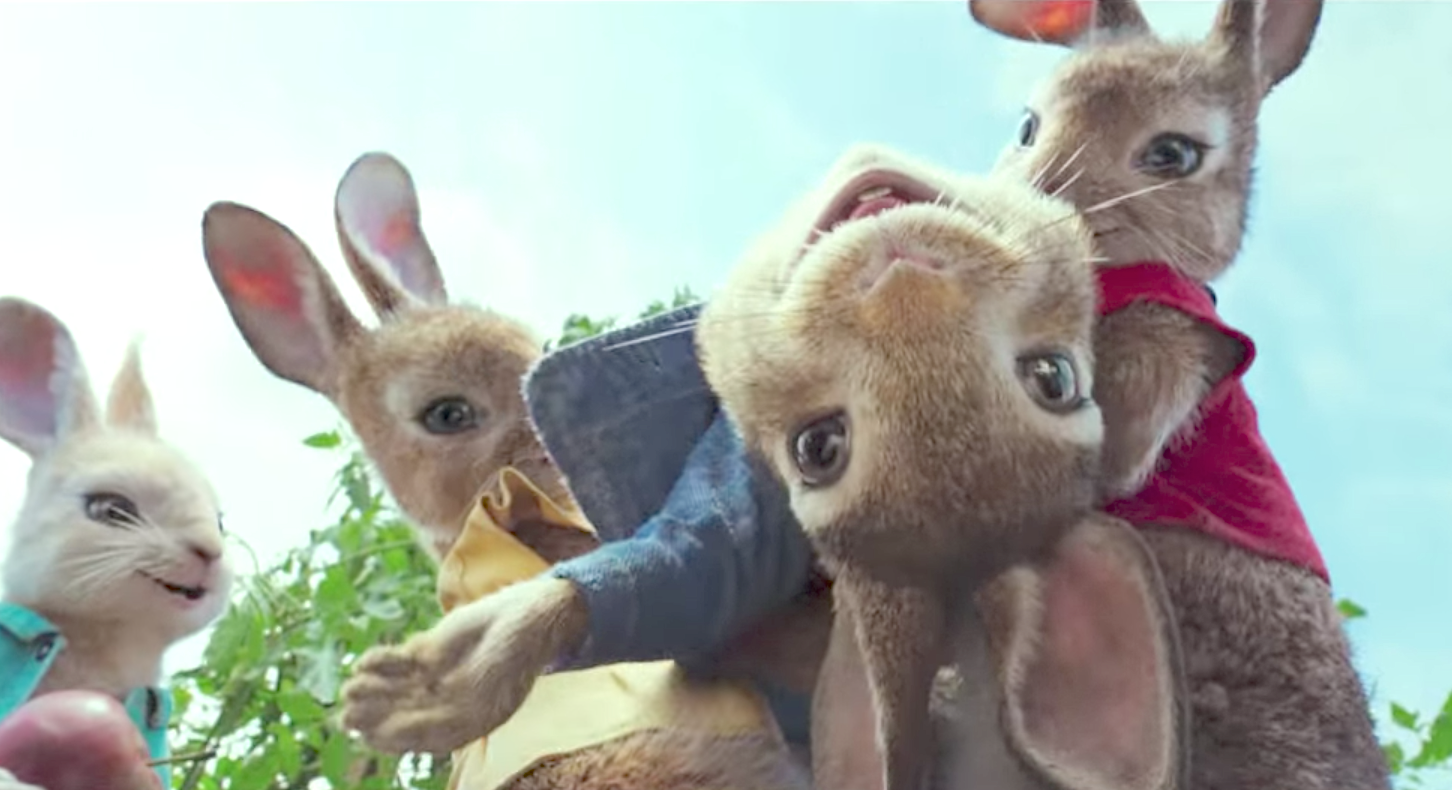Peter Rabbit 2018 New Trailer From James Corden Daisy Ridley Margot Robbie Domhnall Gleeson on Peter Rabbit Word Search