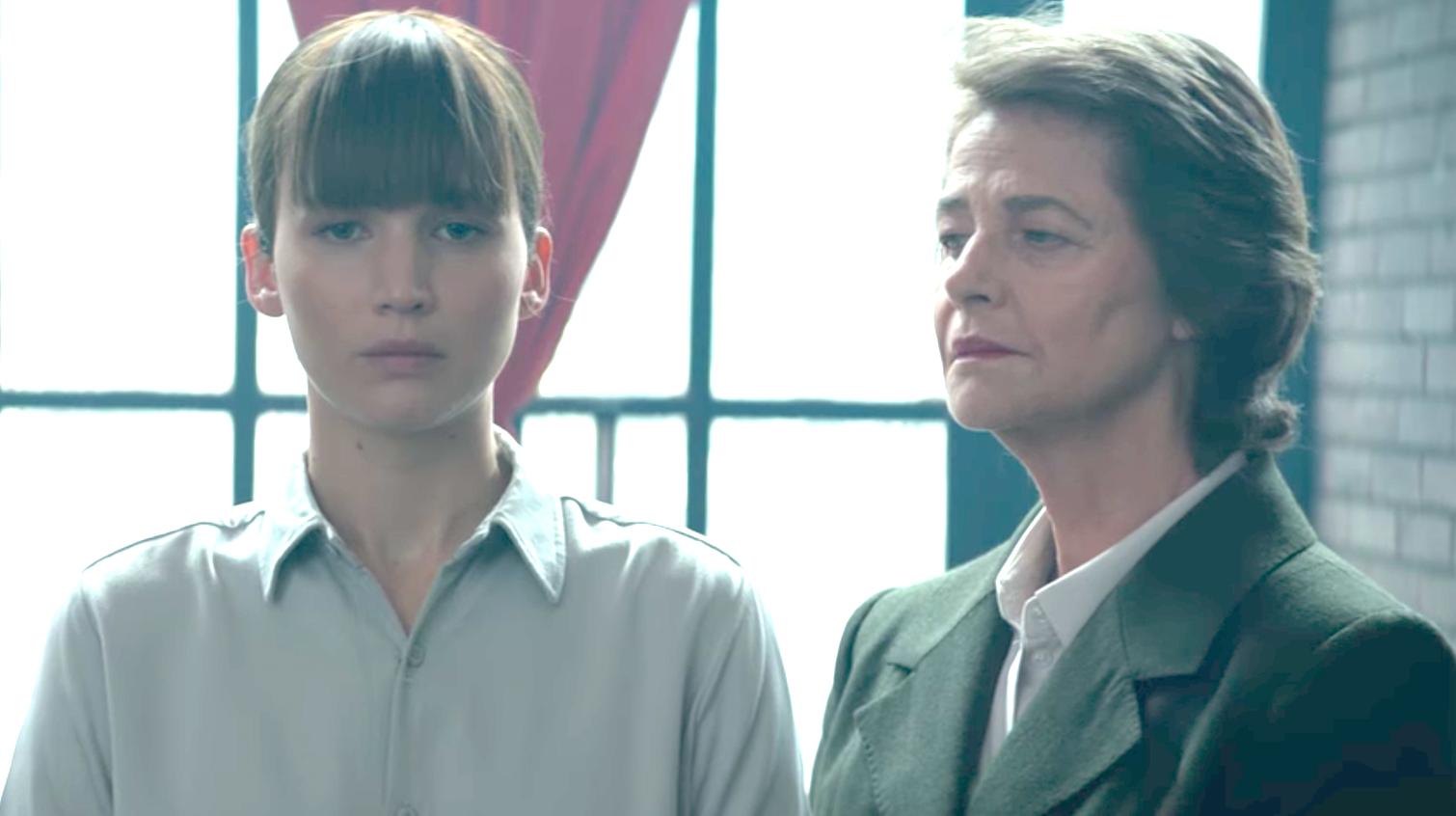 Red Sparrow (2018), Jennifer Lawrence, Charlotte Rampling