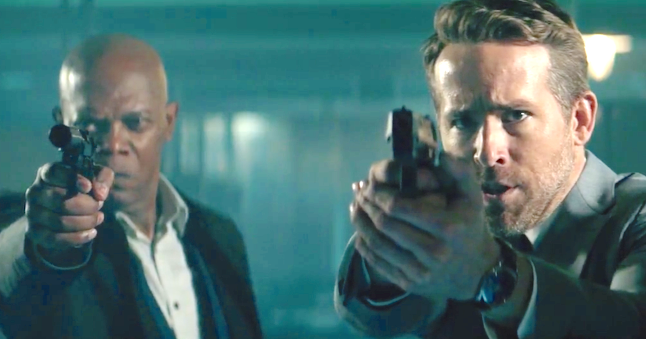The Hitman's Bodyguard (2017), Samuel L. Jackson, Ryan Reynolds