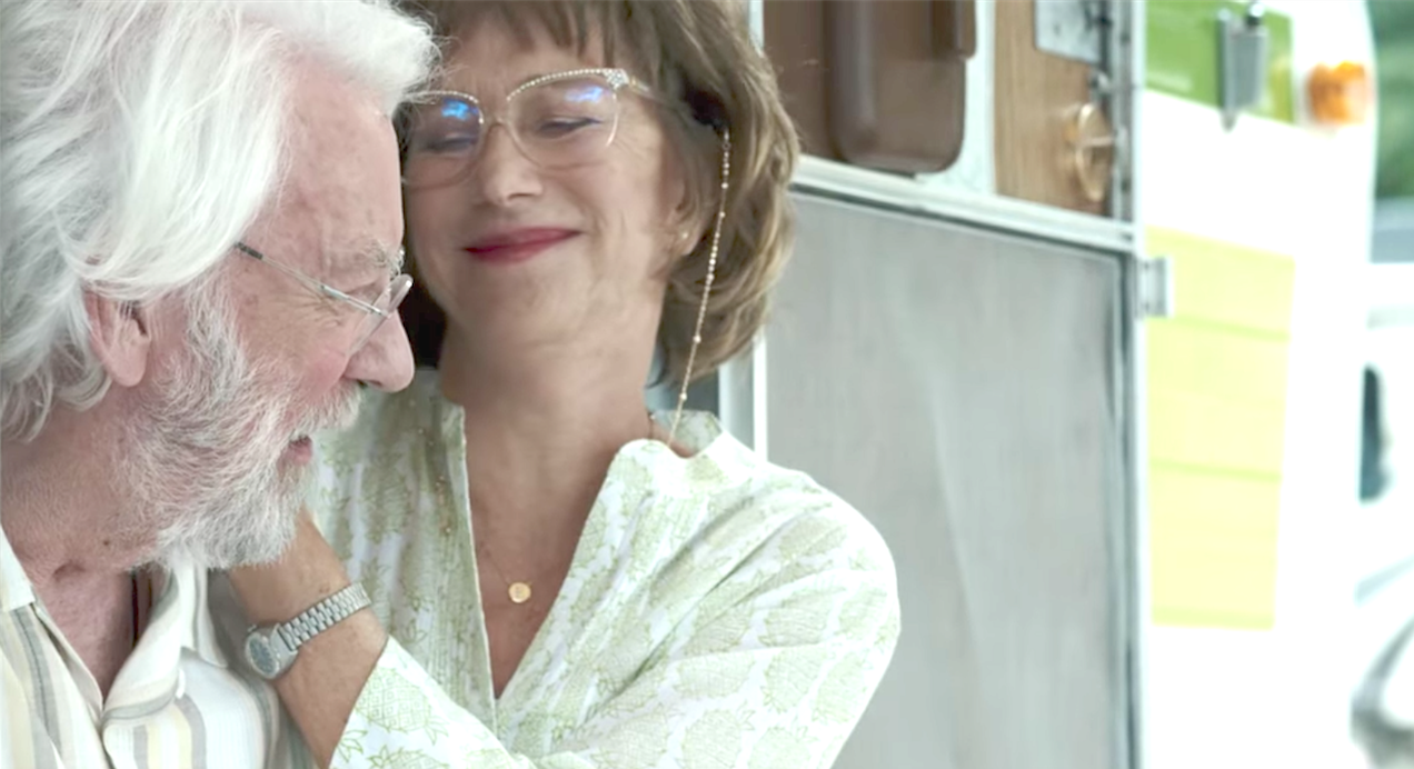 The Leisure Seeker (2017), Donald Sutherland, Helen Mirren