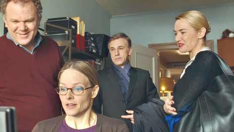 Carnage (2011), John C. Reilly, Jodie Foster, Christoph Waltz, Kate Winslet