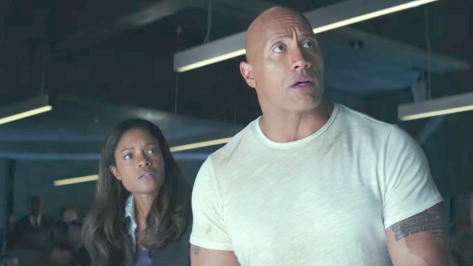 Rampage (2018), Naomie Harris, Dwayne Johnson