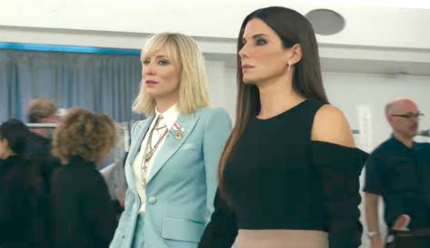Ocean's 8 (2018), Cate Blanchett, Sandra Bullock