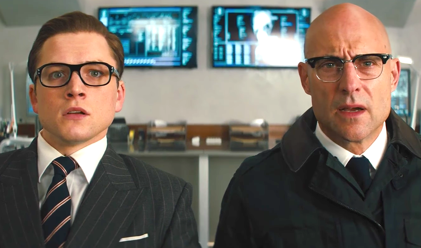 Kingsman - The Golden Circle (2017), Taron Egerton, Mark Strong