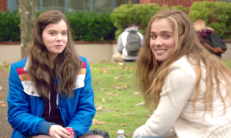 The Edge Of Seventeen (2017), Hailee Steinfeld, Haley Lu Richardson