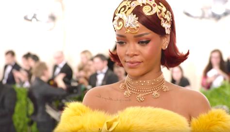 Yellow Is Forbidden (2018), Rihanna