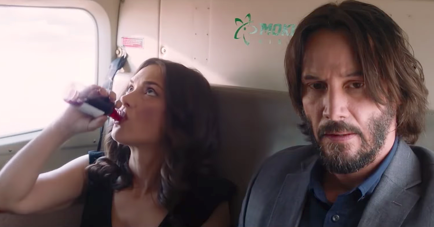 Destination Wedding (2018), Winona Ryder, Keanu Reeves