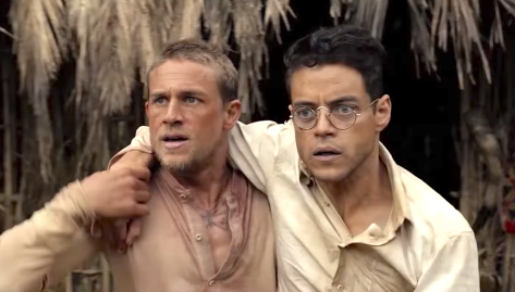 Papillon 2017 New Trailer From Charlie Hunnam Rami Malek Tommy