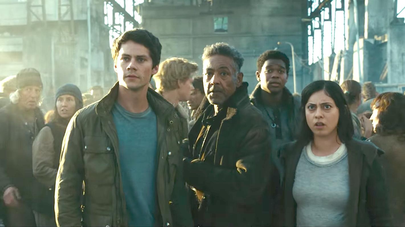 Maze Runner - The Death Cure (2018). Dylan O'Brien, Giancarlo Esposito, Dexter Darden, Rosa Salazar