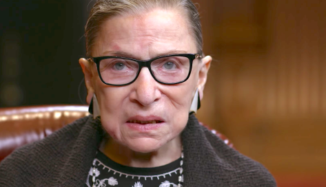 RBG (2018), Justice Ruth Bader Ginsburg