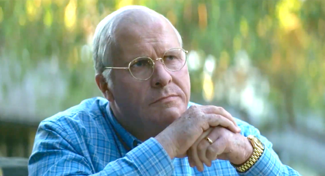 Vice (2018), Christian Bale as Dick Cheney