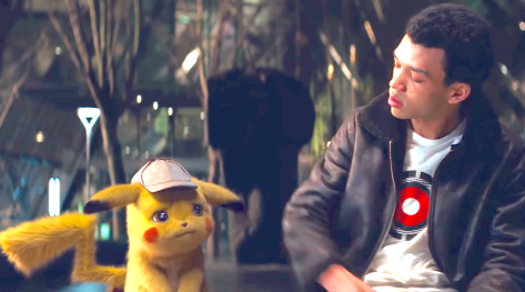 Pokémon Detective Pikachu (2019), Ryan Reynolds, Justice Smith