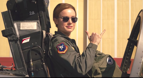 Captain Marvel (2018), Brie Larson