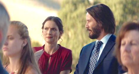 Destination Wedding (2018), Winona Ryder, Keanu Reeves