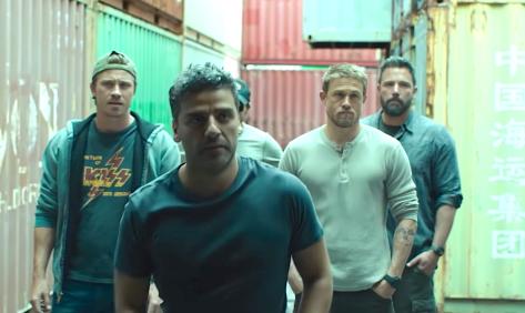 Triple Frontier (2019), Garrett Hedlund, Oscar Isaac, Pedro Pascal, Charlie Hunnam, Ben Affleck