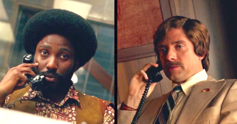 Blackkklansman (2018), John David Washington, Topher Grace