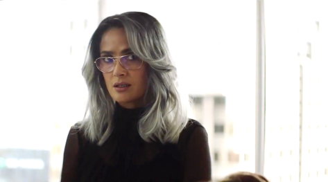 The Hummingbird Project (2019), Salma Hayek