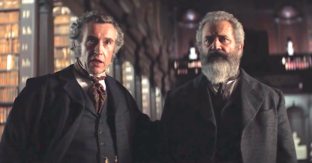 The Professor And The Madman (2017), Steve Coogan, Mel Gibson