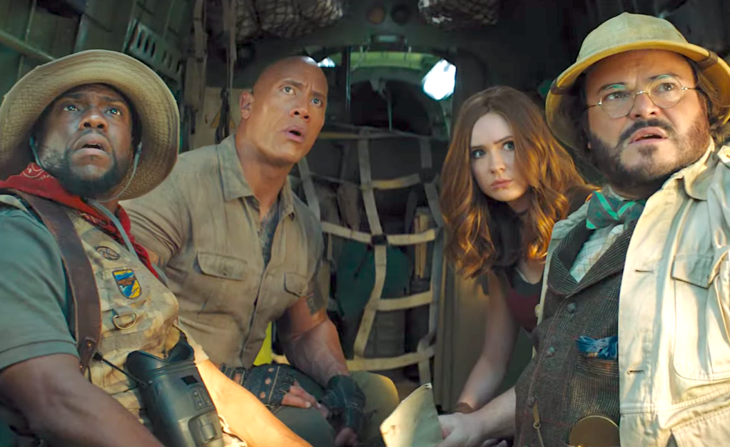 Jumanji - The Next Level (2019), Kevin Hart, Dwayne Johnson, Karen Gillan, Jack Black