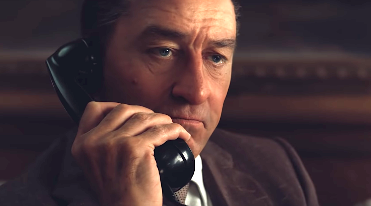 The Irishman (2019), Robert De Niro, Netflix
