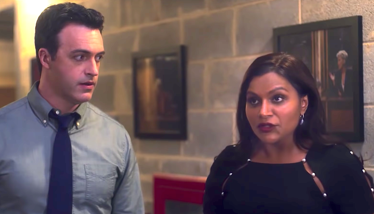 Late Night (2019), Reid Scott, Mindy Kaling