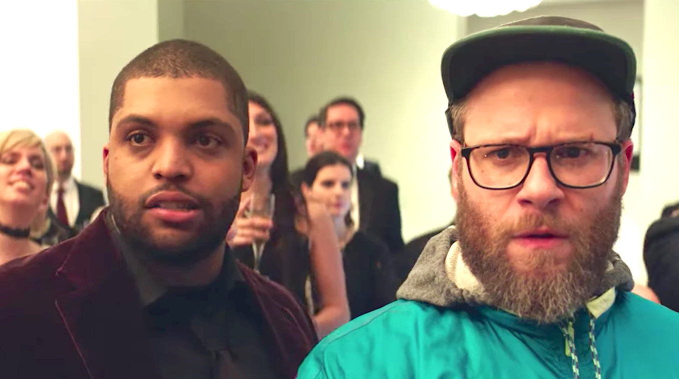 Long Shot (2019), O'Shea Jackson Jr., Seth Rogen