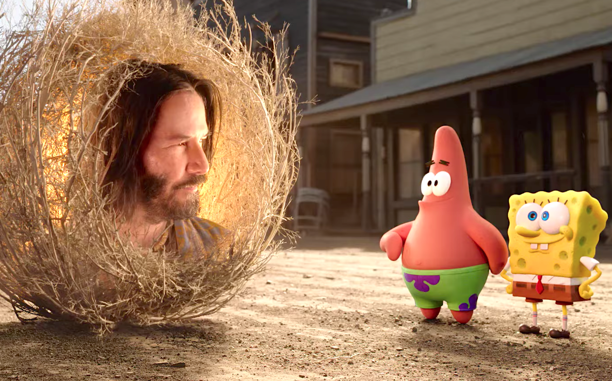 The SpongeBob Movie - Sponge on the Run (2020), Keanu Reeves, Paramount Pictures