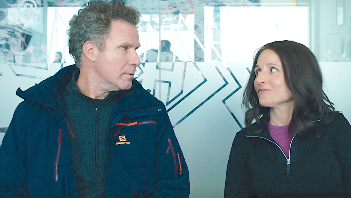 Downhill (2020). Will Ferrell, Julia Louis Dreyfus, FoxSearchlight
