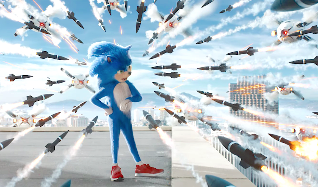 Sonic The Hedgehog (2019), Paramount Pictures