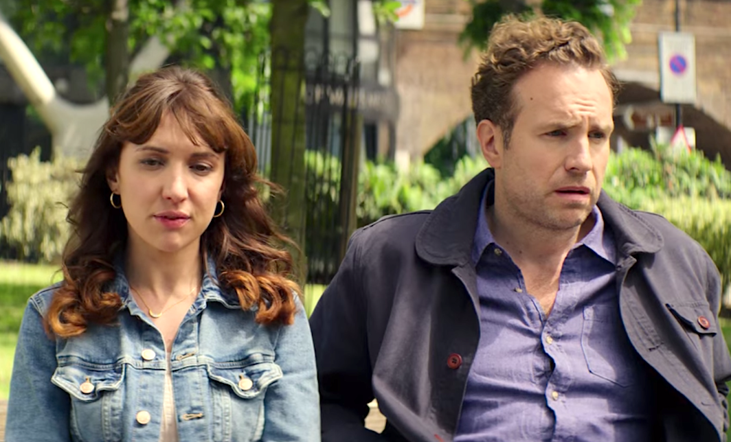 Trying (2020),  Esther Smith, Rafe Spall
