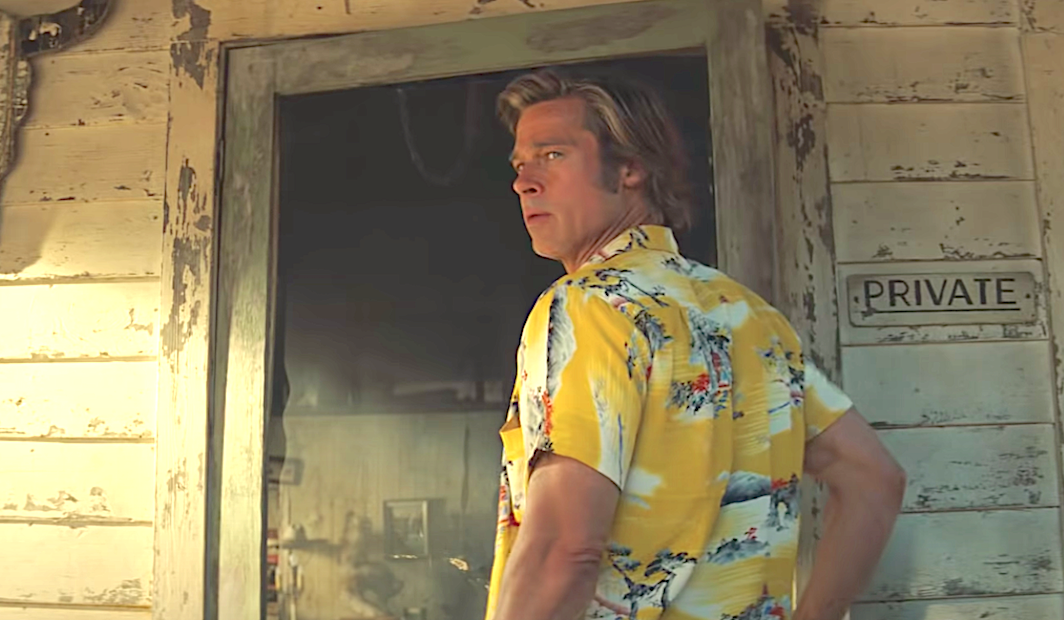 Once Upon a Time in Hollywood (2019), Brad Pitt, Sony Pictures Entertainment