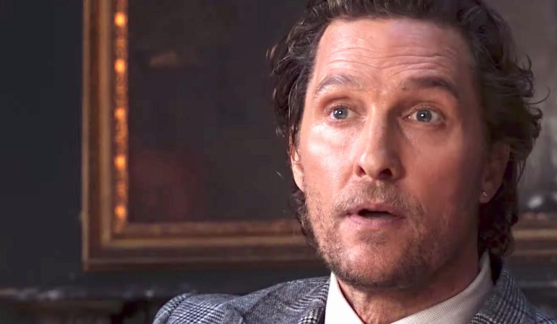 The Gentlemen (2020), Matthew McConaughey, STX Entertainment
