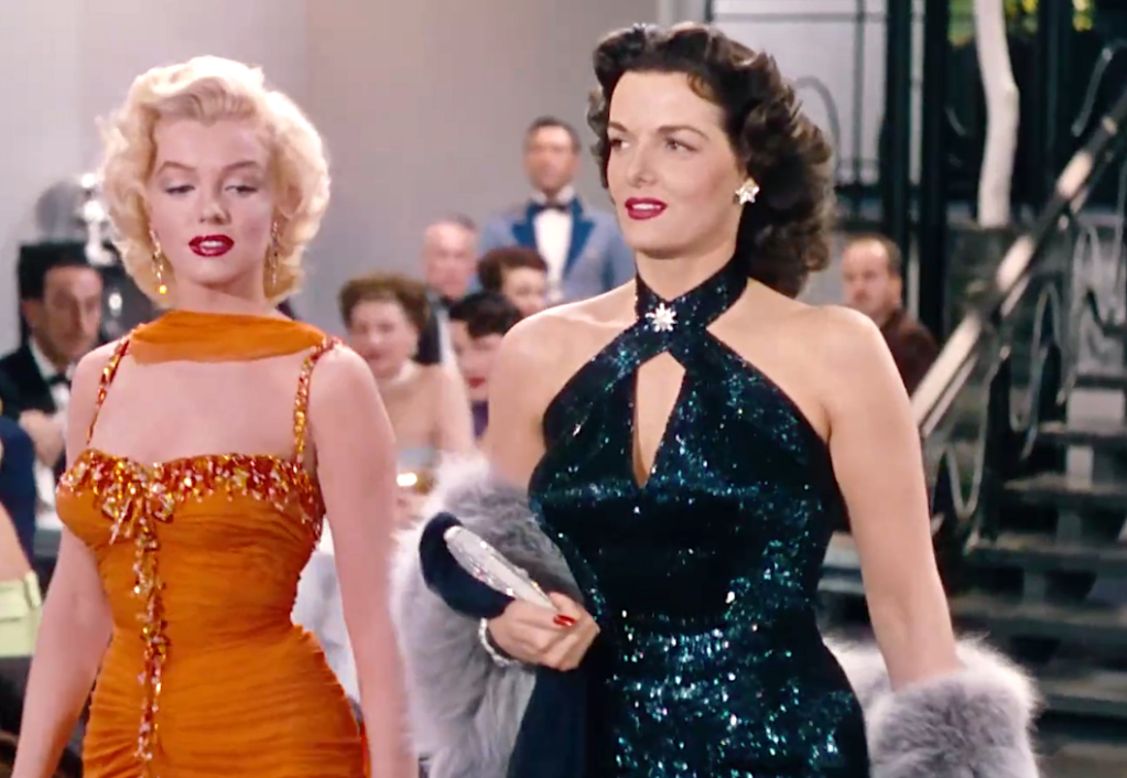 Gentlemen Prefer Blondes (1953), Marilyn Monroe, Jane Russell, Twentieth Century Fox