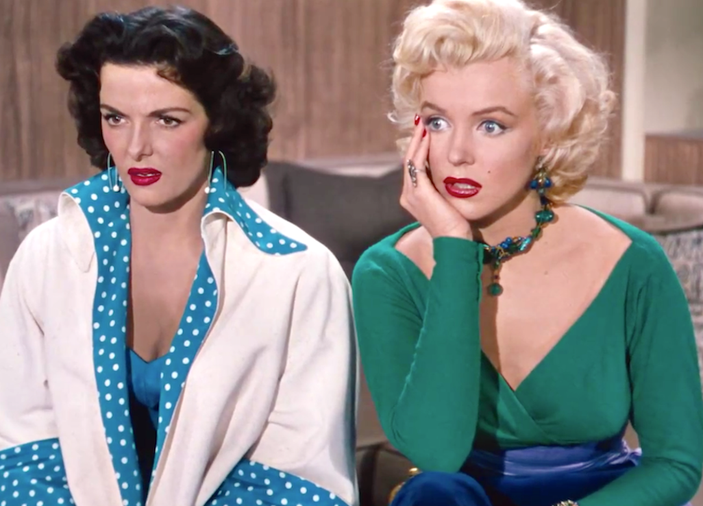 Gentlemen Prefer Blondes (1953), Jane Russell, Marilyn Monroe, Twentieth Century Fox