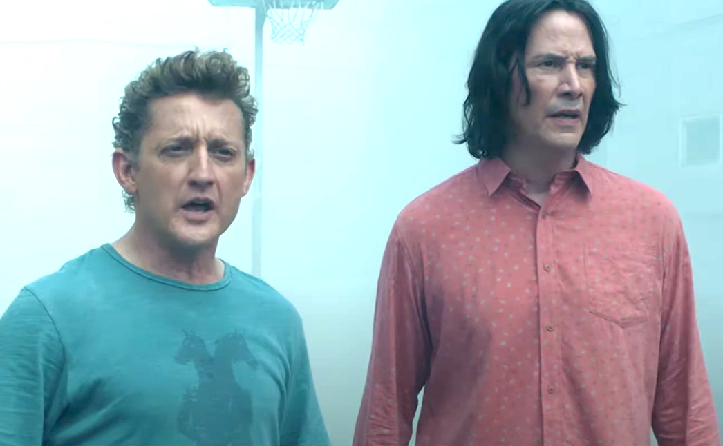 Bill & Ted Face The Music (2020), Alex Winter, Keanu Reeves, Orion Pictures