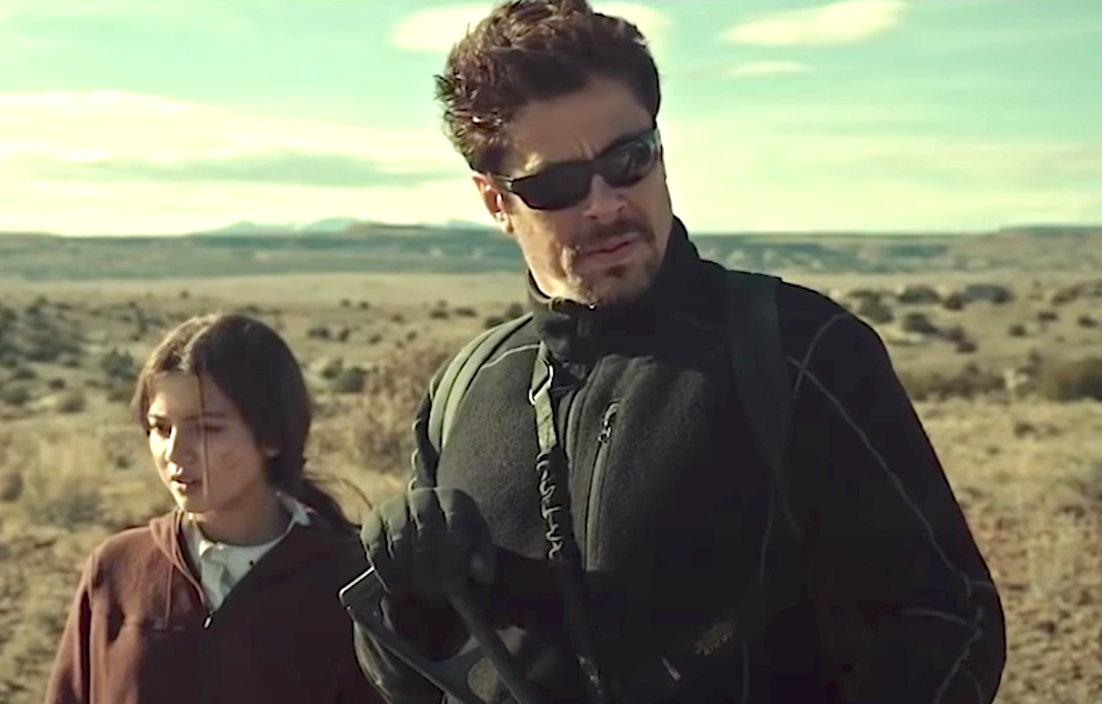 Sicario - Day of the Soldado (2018), Isabela Merced, Benicio Del Toro