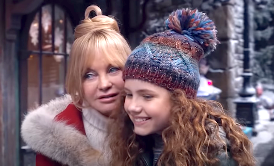 The Christmas Chronicles (2020), Goldie Hawn, Darby Camp, Netflix